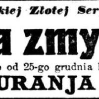 Niewolnica zmysłów, Kurier Warszawski 1914 nr 355 (25 grudnia), s. 1..jpg