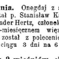 Hertza uwolnienie Nowa Gazeta 18.01.1908.jpg
