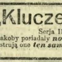 Klucze_szczęścia_Kurier_Warszawski_1913_26_listopada.jpg